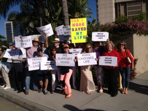 Some of the St. James Members who attended the Rally.
