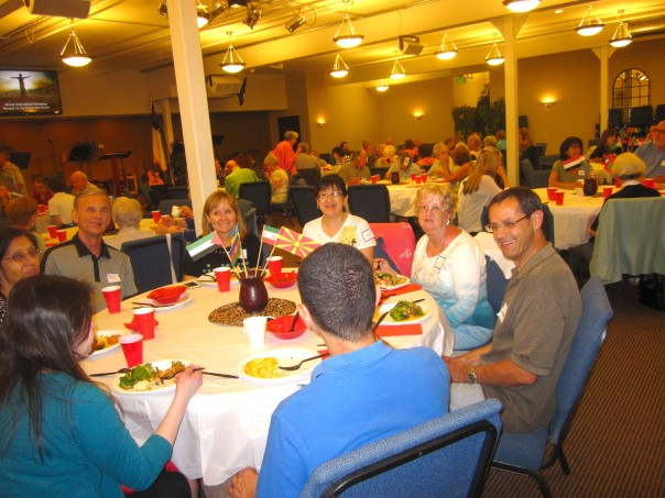 82 people from many churches enjoyed the event in Calvary Chapel's spacious sanctuary.